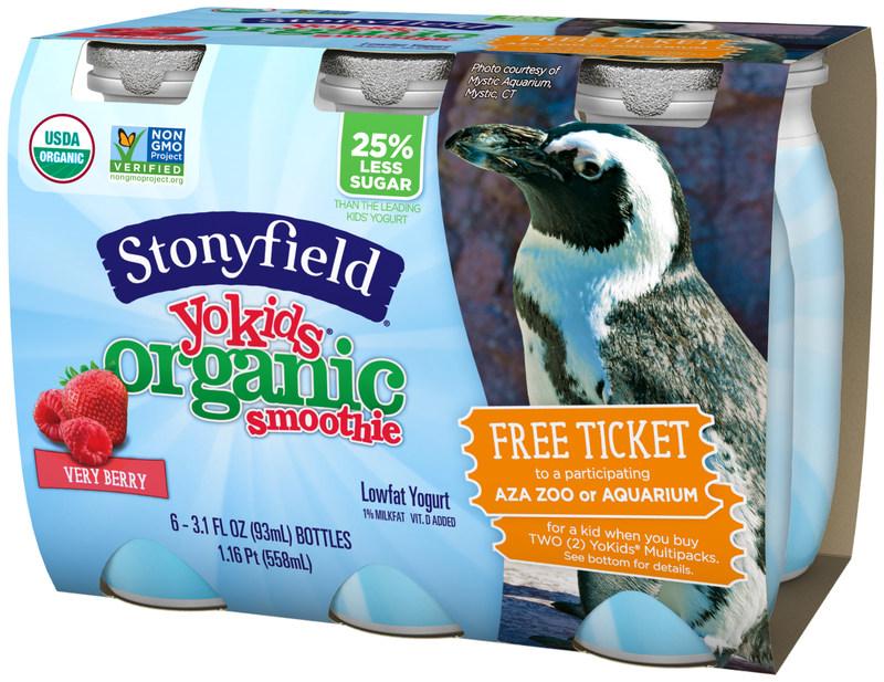 Stonyfield YoKids Organic Smoothie
