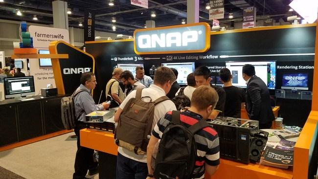 QNAP AT NAB 2017