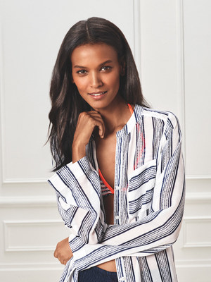 Joe Fresh and lemlem by Liya Kebede Partner on Limited-Edition Swimwear Capsule Collection (CNW Group/Loblaw Companies Limited - Joe Fresh)