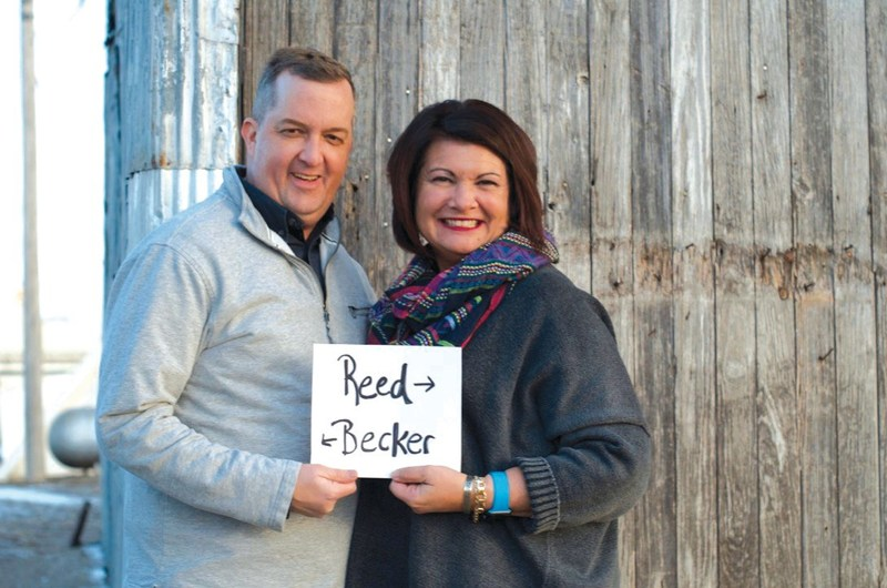 Mike Becker and Kori Reed