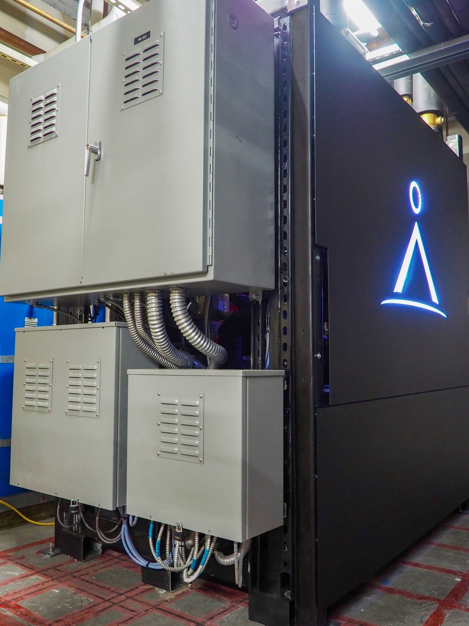 Axiom Exergy has successfully demonstrated the viability of their energy storage solution by charging and discharging 1040 kWh of load at the Whole Foods Los Altos, California store for up to 10 hours a day over the course of several months. (PRNewsfoto/Axiom Exergy)