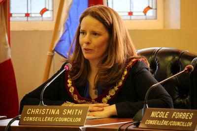 Le nouveau maire par intérim Christina Smith (Groupe CNW/Ville de Westmount)
