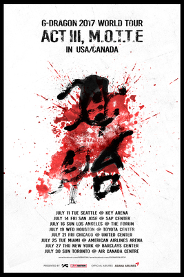 G-DRAGON Is Back! 'World Tour Coming To The USA & Canada In July