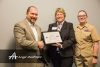 Angel MedFlight Worldwide Air Ambulance CEO, Jason Siegert, Awarded Department of Defense Program Patriot Award