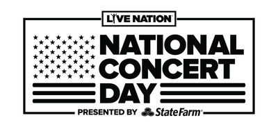 Live Nation's National Concert Day - May 1, 2017