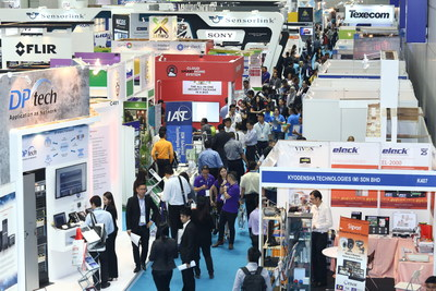 More than 120 global leading brands at IFSEC Philippines 2017.