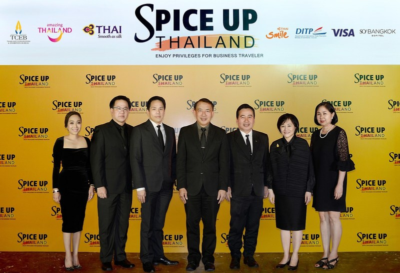 TCEB launches Spice Up Thailand 2017 campaign with special privileges for MICE
