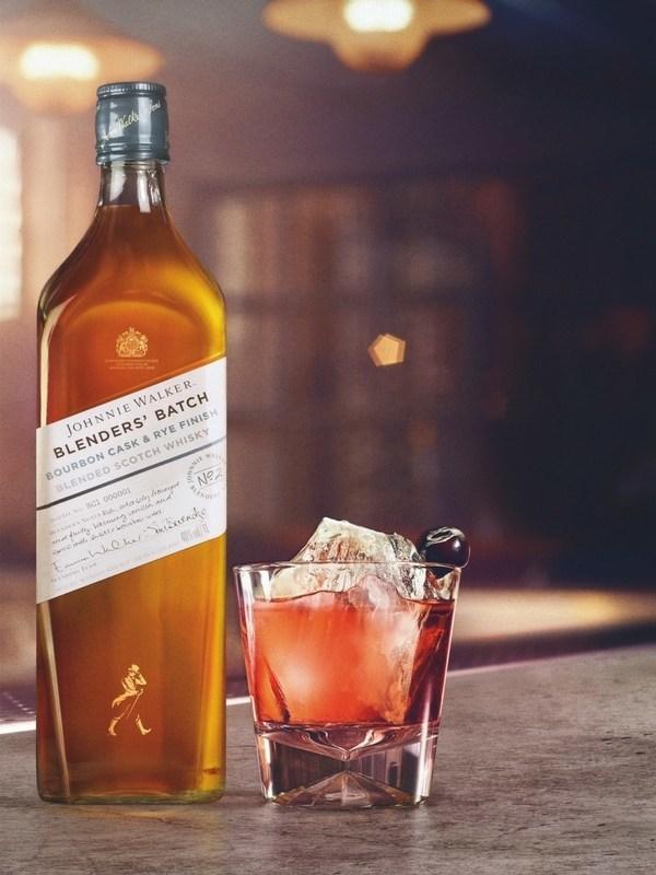 Introducing Johnnie Walker Blenders' Batch Bourbon Cask & Rye Finish (PRNewsfoto/Diageo Global Travel)