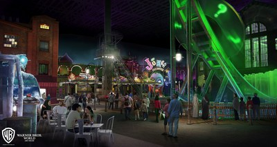 Miral Reveals First-Glimpse Of Warner Bros. World Abu Dhabi Themed Worlds on Yas Island