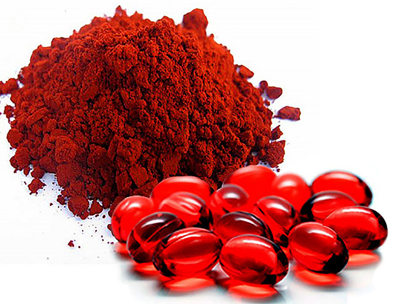 Natural algae astaxanthin derived from Haematococcus pluvialis is the only form of astaxanthin that has been clinically proven to have health benefits in human studies.