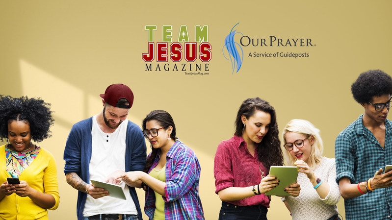Guideposts OurPrayer and Team Jesus Magazine Expand the Gospel Through Content and Prayer.