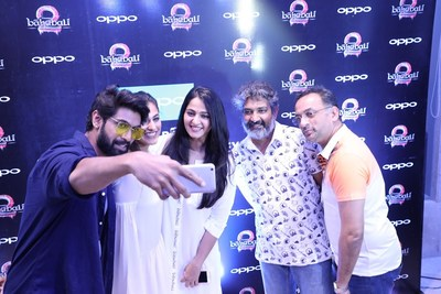 OPPO Brings Fans to the World of Baahubali at the Star-studded Event in Hyderabad