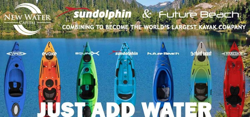 Sun Dolphin, Super Beach Combine to Create World's Largest Kayak-Maker