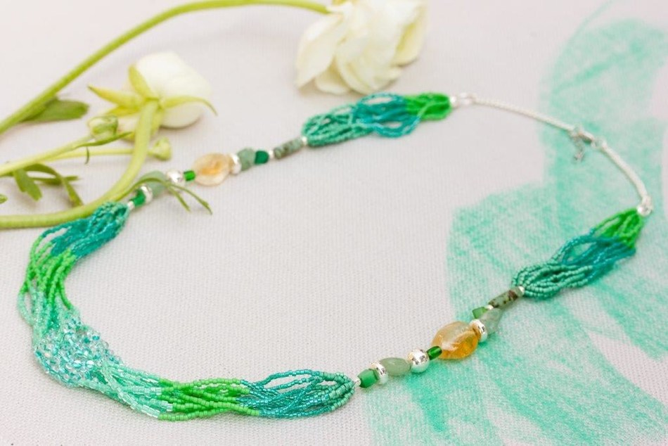 Fiji Necklace ($35) from Coletta Collections is the perfect gift that gives back. Every purchase provides employment and vocational opportunities for people with intellectual disabilities.  See the full line of products at www.colettacollections.com.