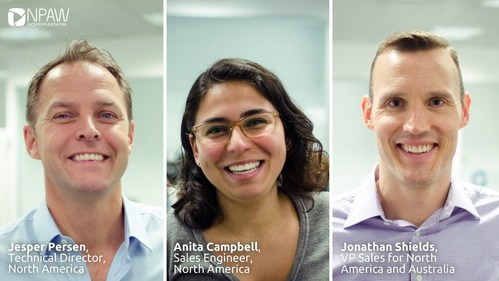NPAW expands its US and Pacific team in support of its international expansion (PRNewsfoto/NPAW (Nice People At Work))