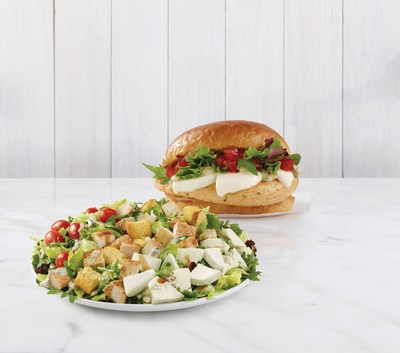 Wendy's adds newest quality ingredient to its menu: fresh mozzarella cheese. For a limited time consumers can savor the new Fresh Mozzarella Chicken Salad and Fresh Mozzarella Chicken Sandwich, each prepared daily in restaurant and made with simple, yet bold ingredients for an unforgettable fresh-eating experience.