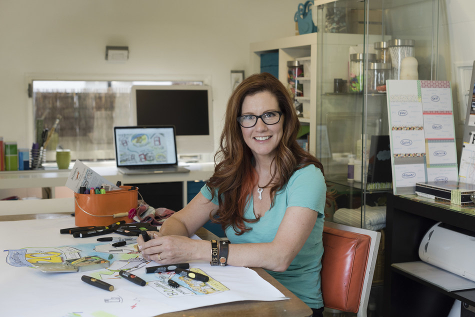 Small business owner Sarah Spencer