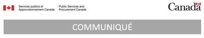 SPAC - Communiqué (Groupe CNW/Services publics et Approvisionnement Canada)