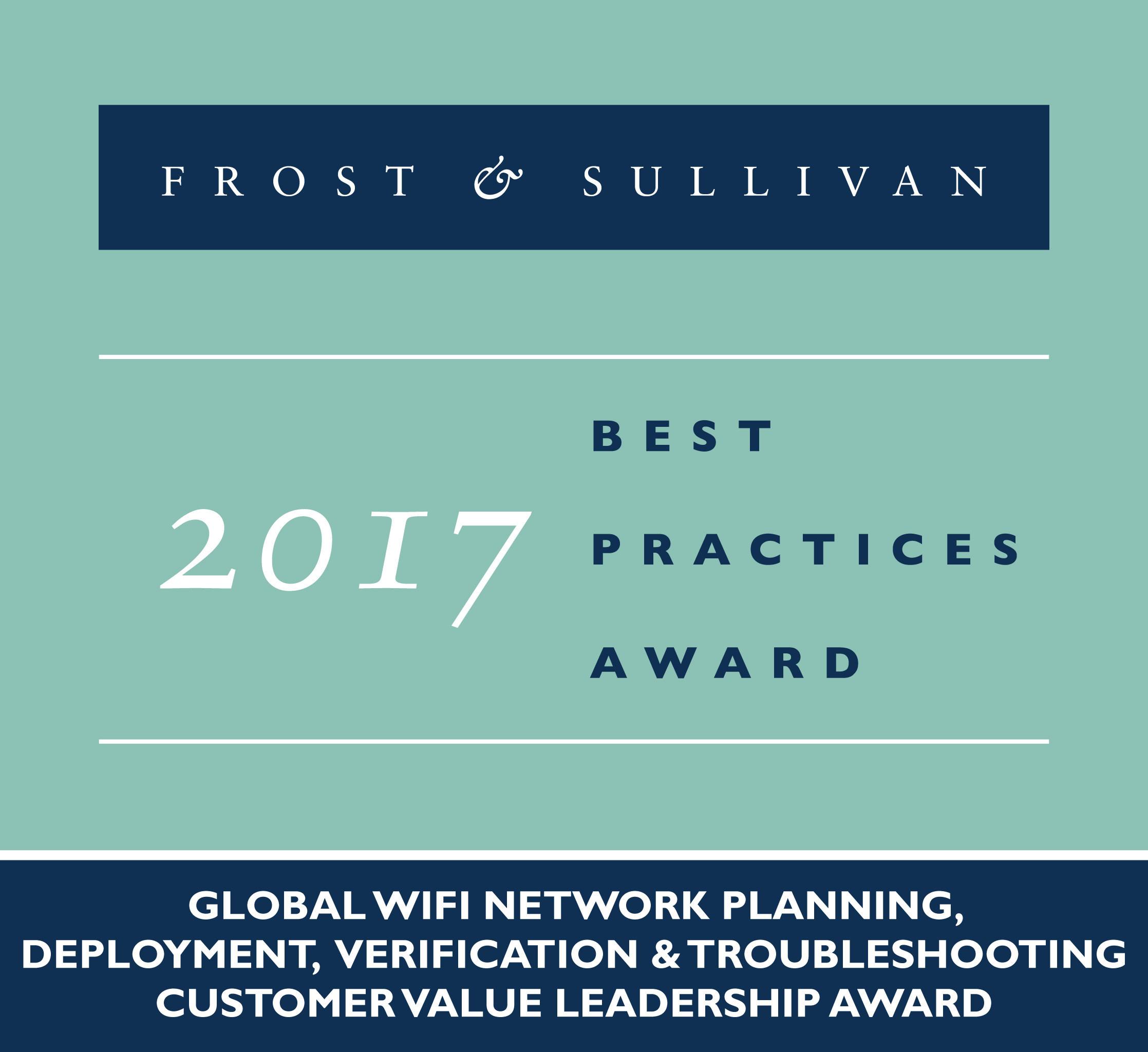 Ekahau Earns Frost & Sullivan Customer Value Leadership