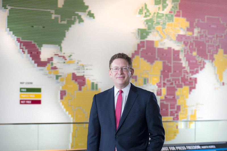"""Newseum President and CEO Jeffrey Herbst is the former president of Colgate University and brings insightful perspective to the current debate on free speech on college campuses. In a white paper published on April 25, Herbst outlines his argument that students increasingly believe in the """"right to non-offensive speech."""""""