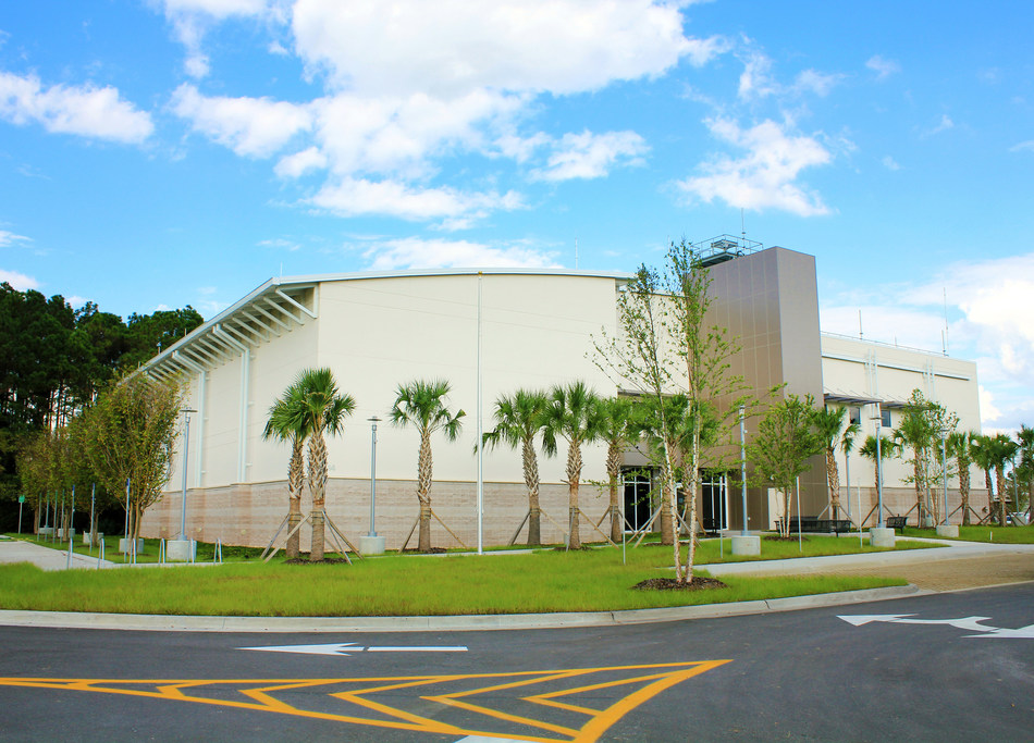 The new Broad Area Maritime Surveillance Center at Naval Air Station Jacksonville has received a prestigious engineering design award from the Georgia Chapter of the American Council of Engineering Companies.