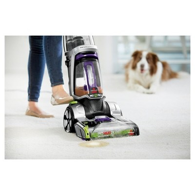 the new bissell proheat 2x revolution pet pro carpet cleaner