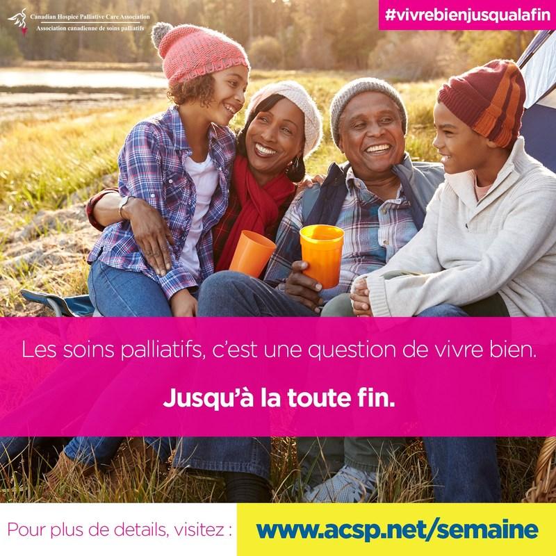 Social media promo image - Français (Groupe CNW/Association canadienne de soins palliatifs)