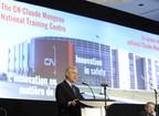 Le président-directeur général, Luc Jobin, a annoncé lundi que le centre national de formation du personnel du CN à Winnipeg sera nommé en honneur de son ancien président-directeur général, Claude Mongeau. (Groupe CNW/La Compagnie des chemins de fer nationaux du Canada)