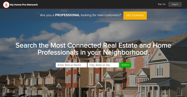 My Home Pro Network™ makes it easy for millennial homebuyers to find real estate and home professionals who are most connected in their community.