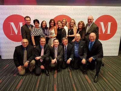 Toute l'équipe du Groupe Maurice, Lauréat du concours Les Mercuriades 2017 (Groupe CNW/Le Groupe Maurice)
