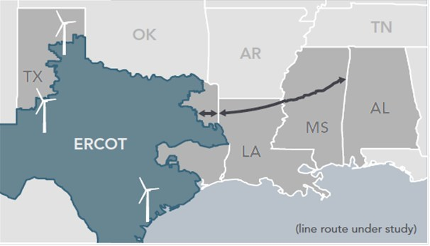 Southern Cross Transmission Files Route In Mississippi