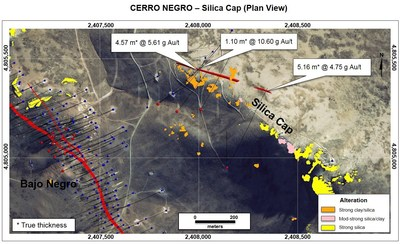 Figure 11. Silica Cap (Plan View) (CNW Group/Goldcorp Inc.)
