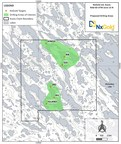 Figure 1: Kuulu Drill Area Location Map (CNW Group/NxGold Ltd.)