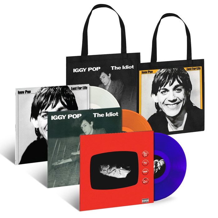 Lust For Vinyl: UMe Resurrects Iggy Pop's Historic First Three LPs On Limited-Edition Colored-Vinyl Editions