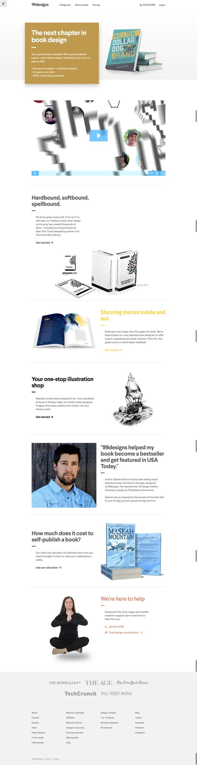 99designs Launches Comprehensive, End-to-End Book Design Solution for Self-Publishers