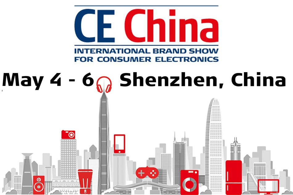 Consumer Electronics Trade Show CE China opens May 4 in Shenzhen, China. (PRNewsfoto/TVT.media GmbH)
