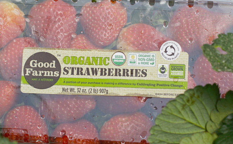 EFI-Certified Organic Strawberries from GoodFarms