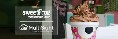 MultiSight and sweetFrog Partnership