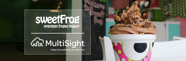 MultiSight and sweetFrog Partnership