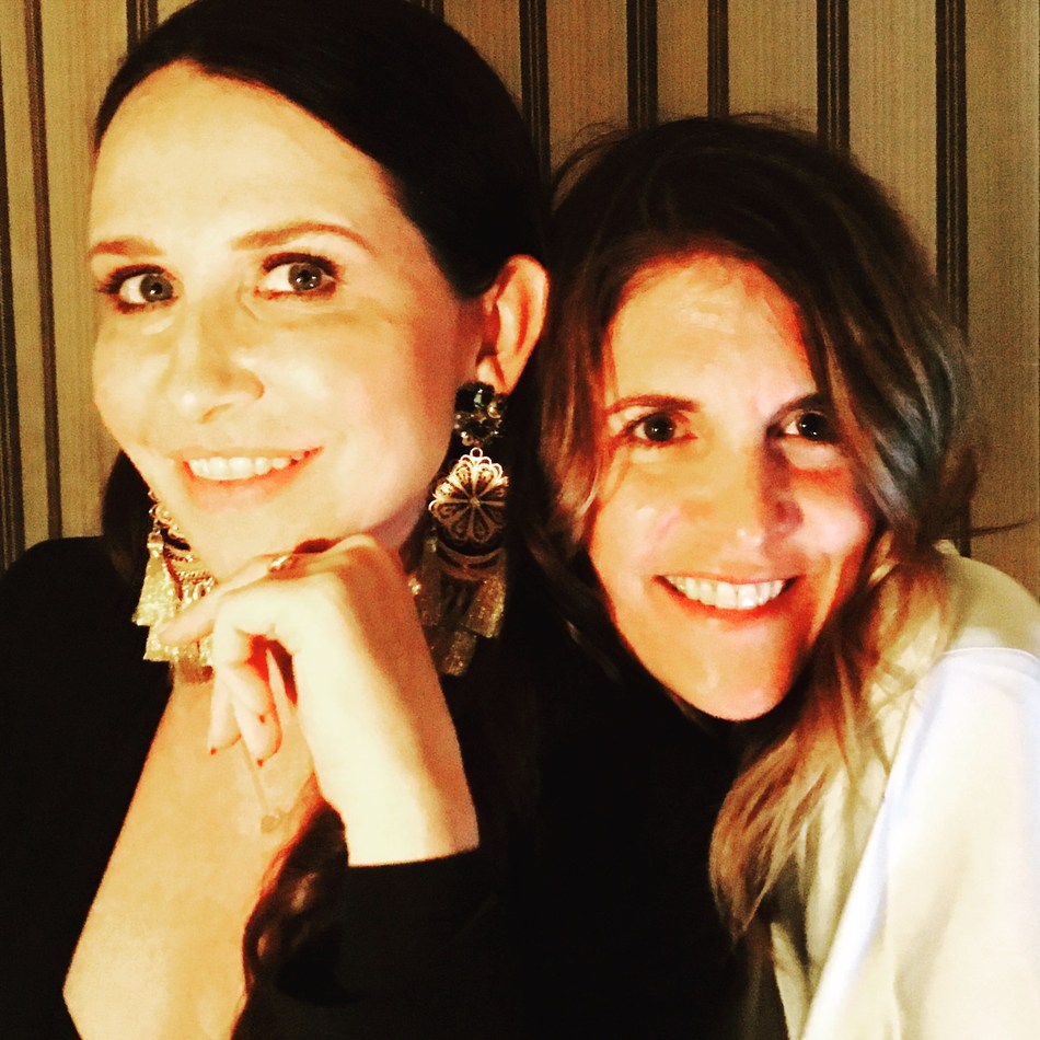 Janie Bryant and Andrea Stanford of C Magazine at The Chateau Marmont