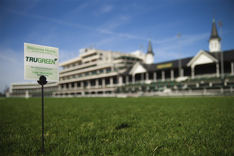 TruGreen has partnered with Churchill Downs, home of the Kentucky Derby®, caring for 37 acres of turf at the facility.