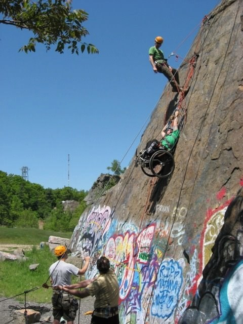 Wounded Warrior Project's new efforts in adaptive sports will help show injured veterans they can get involved in anything, including rock climbing.