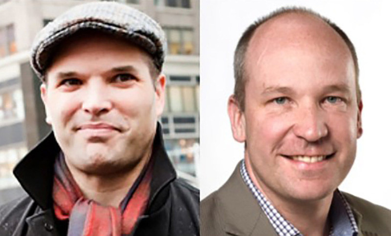 The second conversation of the CJF's two-part evening will feature Matt Taibbi, author of Insane Clown President: Dispatches from the 2016 Circus and contributing editor to Rolling Stone, in conversation with David Walmsley, editor-in-chief of The Globe and Mail. The event takes place on May 24 in Toronto at Roy Thomson Hall. (CNW Group/Canadian Journalism Foundation)