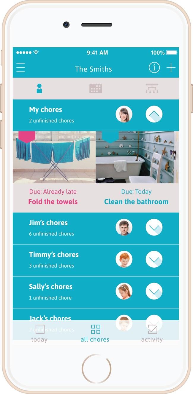 Homey app helps teach kids financial responsibility through chores