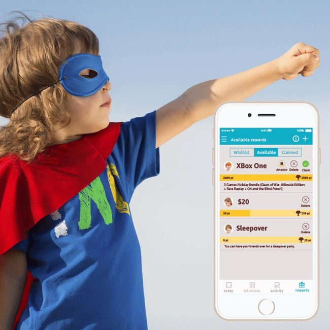 Make achieving goals fun with the Homey app
