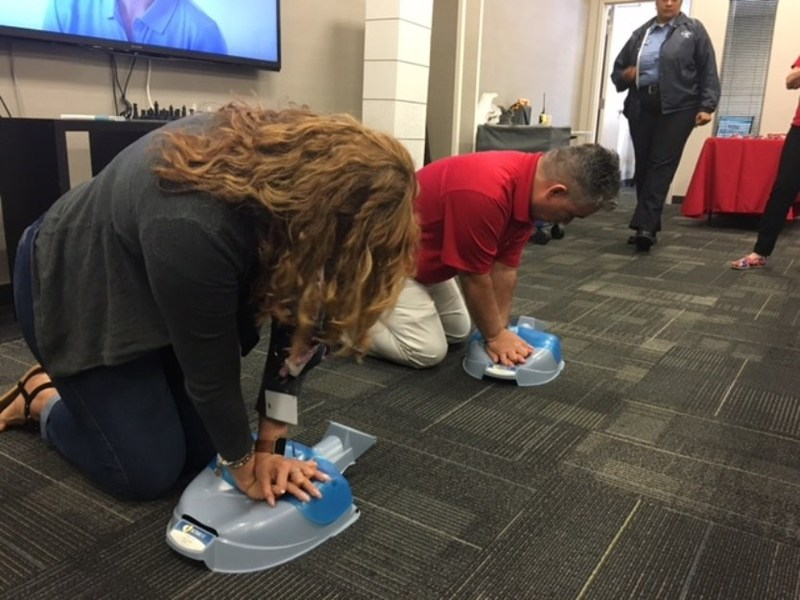 To help teach skills that protect life, Staywell Heath Plan, a WellCare (NYSE: WCG) health plan dedicated to serving Medicaid members in Florida, has partnered with the American Heart Association to provide Hands-Only™ CPR training classes for the general public at its local Welcome Rooms.
