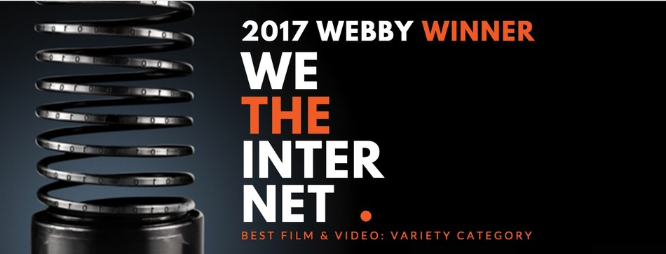 We the Internet TV takes home Webby Award