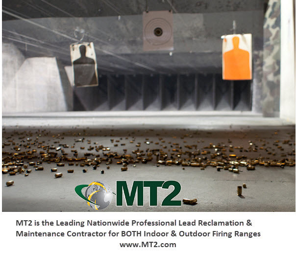 MT2's firing range services include complete range maintenance, improvements and lead remediation services.