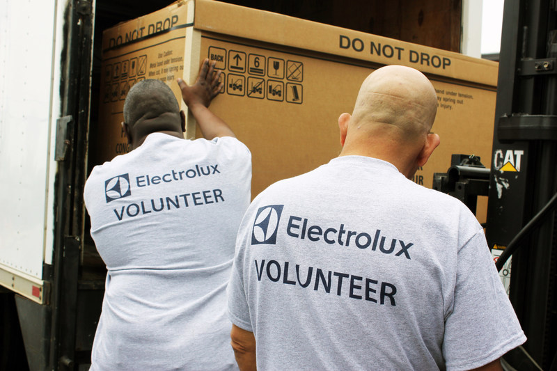 Electrolux donation supports more than 10 SC nonprofits feeding the needy; provides funding for 5,400 family meals