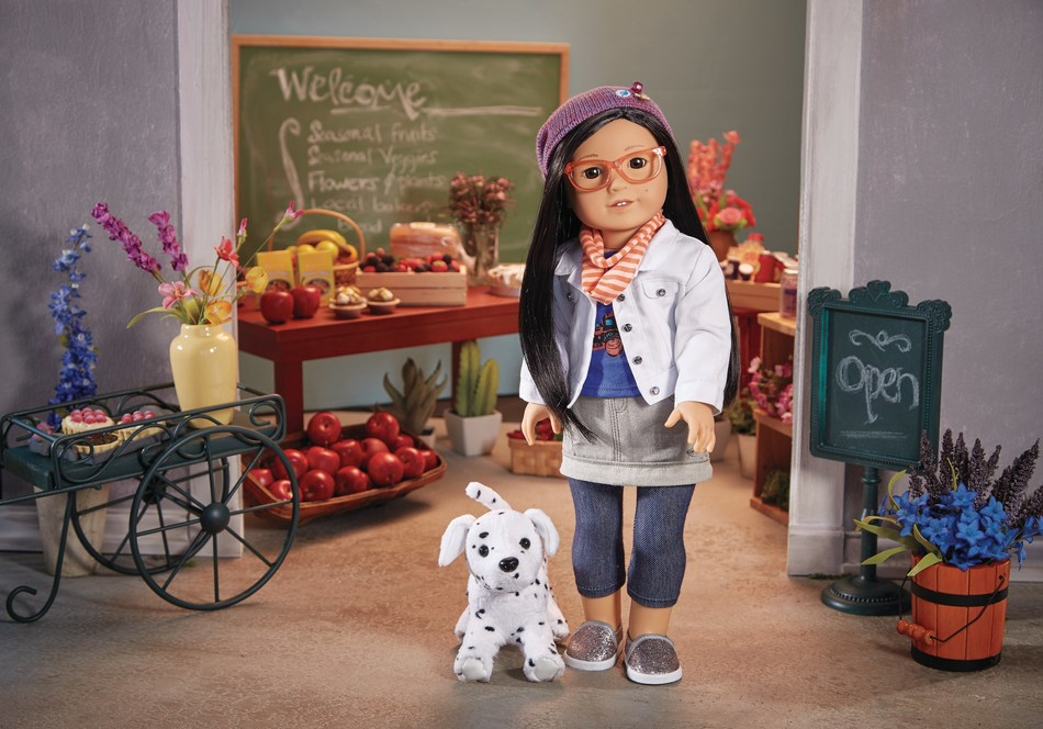 Z Yang, an imaginative filmmaker from Seattle, is the latest addition to American Girl's new line of contemporary characters.
